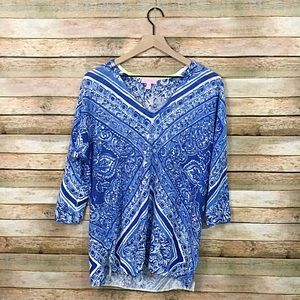 Lilly Pulitzer Jameson Sweater - Size XS/S - Blue
